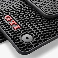 Original Volkswagen GTI Satz Allwetter Gummifußmatten vorn und hinten Golf VII