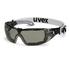 UVEX Pheos GUARD SV Extreme 9192-181 Safety Glasses Spectacles Strap SMOKE Lens