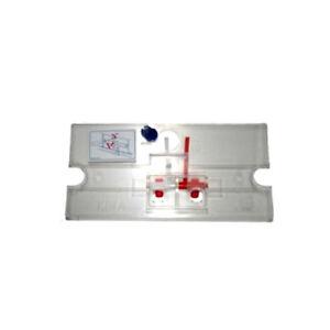 Sanit Ersatzteil für UP Spülkasten Scharnierplatte inkl.2 Hebel Halter Blende