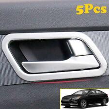 For Hyundai Sonata 15-2018 Chrome Inner Door Handle Cover Bowl Trim Catch Frame