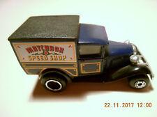 Matchbox Superfast Model A Ford Matchbox Speed Shop in Blau von 1979