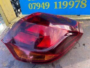 Vauxhall Astra J MK 6 5 Door Offside Drivers Rear Light Tail Light Back Light