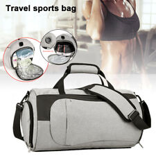 Waterproof Sport Gym Duffel Bag Travel Handbag Satchel Luggage Shoe    **