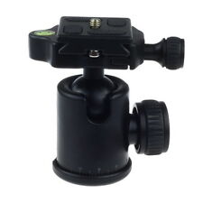360°Rotate Panoramic Damping Ballhead&Quick Release Plate for Tripod DSLR Camera