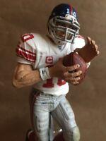 NEW YORK GIANTS Tap Handle ELI MANNING White JERSEY Beer Keg NFL FOOTBALL
