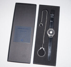 Genuine BMW Men`s Women`s Automatic Watch with NOMOS Strap Band / Black Dial