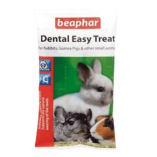 Beaphar Small Animal DENTAL EASY TREAT Hamster Rabbit Guinea Pig Treats 60gm