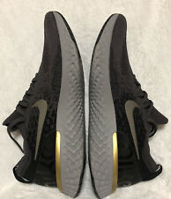 Nike Epic React Flyknit Mens AQ0067-009 Thunder Grey Moss Running Shoes Size 11