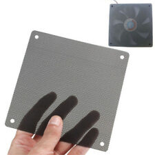 5PCS 120mm Cuttable Black PVC PC Fan Dust Filter Dustproof Case Computer Mesh JC