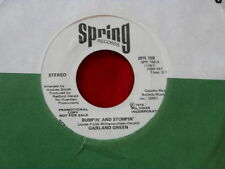 GARLAND GREEN~ BUMPIN AND STOMPIN~ NEAR MINT~ PROMO~RARE~ SPRING 158~ SOUL 45