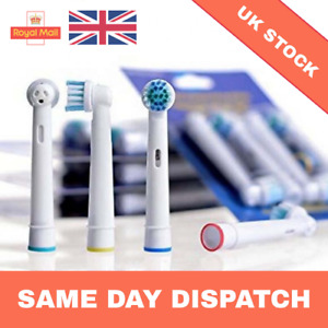 Electric Toothbrush Replacement Heads Compatible With Oral B ( 4 to 24 Brushes )