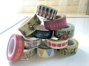 Bulk Japanese Washi Tape - Assorted washi tape - 15mm/20mm x 10meters