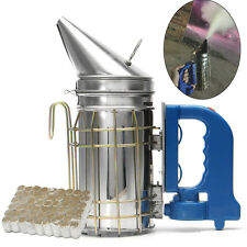 Beekeeping Electric Bee Hive Smoker Fumes Machine Hand-held Tool + Smoke Bombs