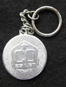 1976 Czechoslovakia Red Cross Civil Defence Worker Competition Key Chain Keyring