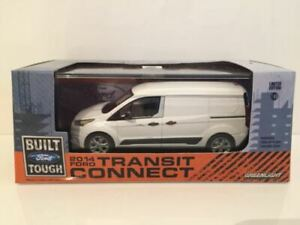 Greenlight 86044 Ford Transit Connect 2014 (V408)  White 1:43 Scale