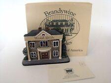 Brandywine Woodcrafts Hometown Village School Shelf Sitter