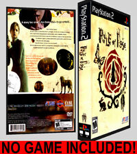 Rule of Rose - PS2 Reproduction Art DVD Case No Game