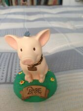 Babe the orphaned piglet figurine