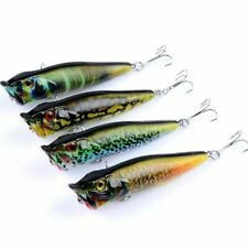 4pcs/lot 9.5cm 12g Popper Fishing Lures Wobblers Crankbaits Painting Series Hard