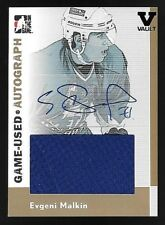 05/06 ITG Heroes & Prospects Gold #08 Evgeni Malkin Jersey Autograph #1/1 1 OF 1