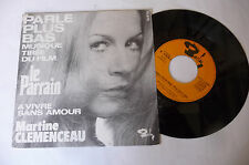 "MARTINE CLEMENCEAU""PARLE PLUS BAS- disco 45 giri BARCLAY Fr 1973"" PERFECT-OST"