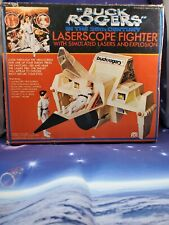 Vintage 1979 Mego Buck Rogers 25th Century Laserscope Fighter Factory Sealed Box