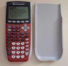 Ti 84 Plus Silver Edition Graphing Calculator Texas Instruments. S-0406F
