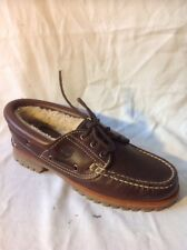Timberland Brown Ankle Leather Boots Size 5.5(U.K. Size 3.5)