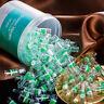 100pcs New Plastic Reduce Tar Smoke Disposable Tobacco Cigarette Filter Holder