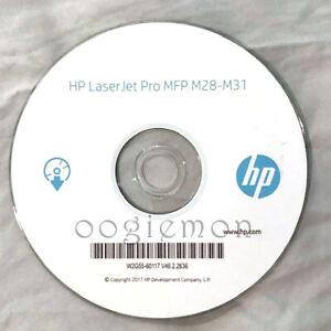 Setup CD ROM for HP LaserJet Pro MFP M28 M29 M30 M31 M28-31 Printer Software