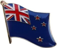 New Zealand Country Flag Bike Motorcycle Hat Cap lapel Pin