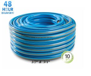 Garden Hose Reel Reinforced Outdoor Blue Premium 4 Layer 1/2 3/4 25M 50M 1M 10M