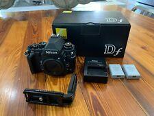 Nikon Df 16.2MP Digital SLR Camera - Black (Body Only) Mint! Low Shutter Count!