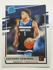 Panini Donruss 2020-21 N7 NBA Anthony Edwards Rated Rookie #201 Timberwolves