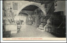 Sitges españa ~ 1910/20 lo Cau Ferrat santiago rusinol vintage Postcard Spain