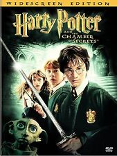 Harry Potter and the Chamber of Secrets (DVD, 2003, 2-Disc Set) VERY GOOD
