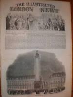 Prints article Paris Fetes of 1852 France