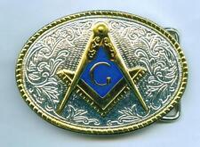 Gürtelschnalle Buckle Freimaurerei Freemansory  Masonry Masonic Loge
