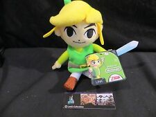 "World of Nintendo Link 7"" plush toy Jakks Pacific"