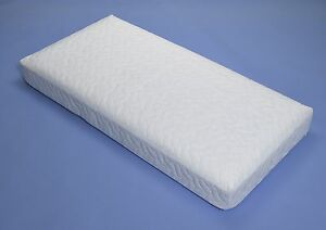 MATTRESS FOR OBABY SLEIGH COT BED  140cm x 70cm SPRING INTERIOR NON ALLERGENIC