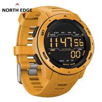 NORTH EDGE MARS Digital Sports Watch Wirstwatch Stopwatch Distence Waterproof