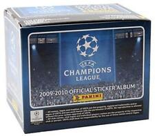 UEFA CHAMPIONS LEAGUE 2009 2010 STICKERS FULL BOX 50 PACKETS BRAND NEW SEALED