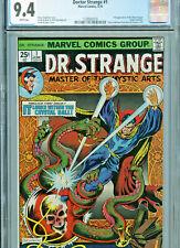 Doctor Strange #1 (Marvel 1974) CGC 9.4 White pages