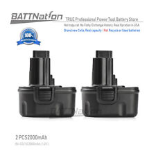 2 x 12V 2.0AH Ni-Cd Battery for Dewalt DC9071 DW9071 DW9072 DE9037 DE9071 DE9072