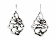 Bat-Ami Sterling Silver Lace Creative Wire Earrings E2920