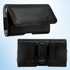 For Alcate One Touch Fierce 7024W Horizontal Pouch Case Holster Belt Loop Clip