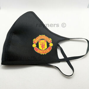 New Adidas MANCHESTER UNITED Fashion Face Cover Mask Reusable One Supplied