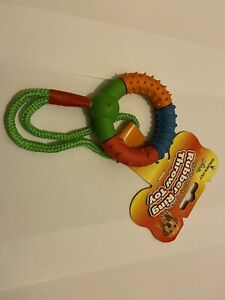 10 Pack Of Mixed Dog Toys...Sqeaky Toys /rope Toys And More