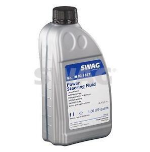 SWAG Hydraulic Fluid (Blue) 1L 10 92 1647 fits Mercedes-Benz Vito 108 CDI 2.2...