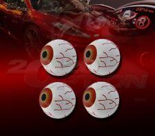 4X 3D EYE BALL INTERIOR EXTERIOR EMBLEM FOR 300 CHALLENGER CHARGER RAM 1500 DART